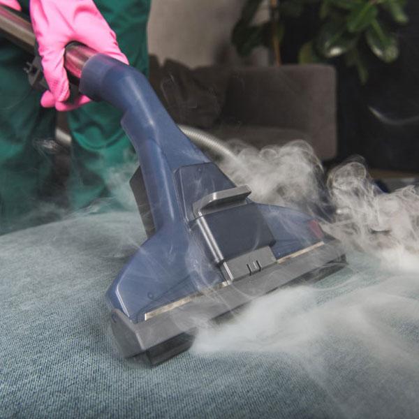 Le nettoyage à vapeur